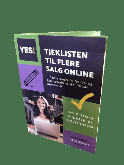 Tjeklisten til flere salg online