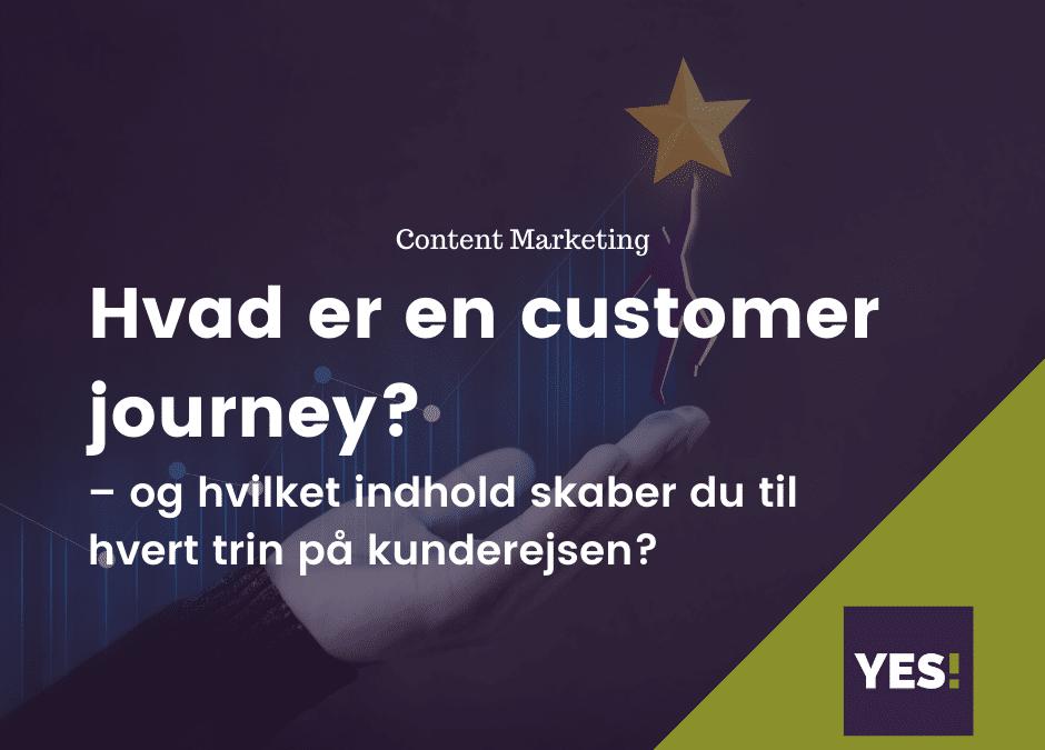 Hvad er en customer journey?