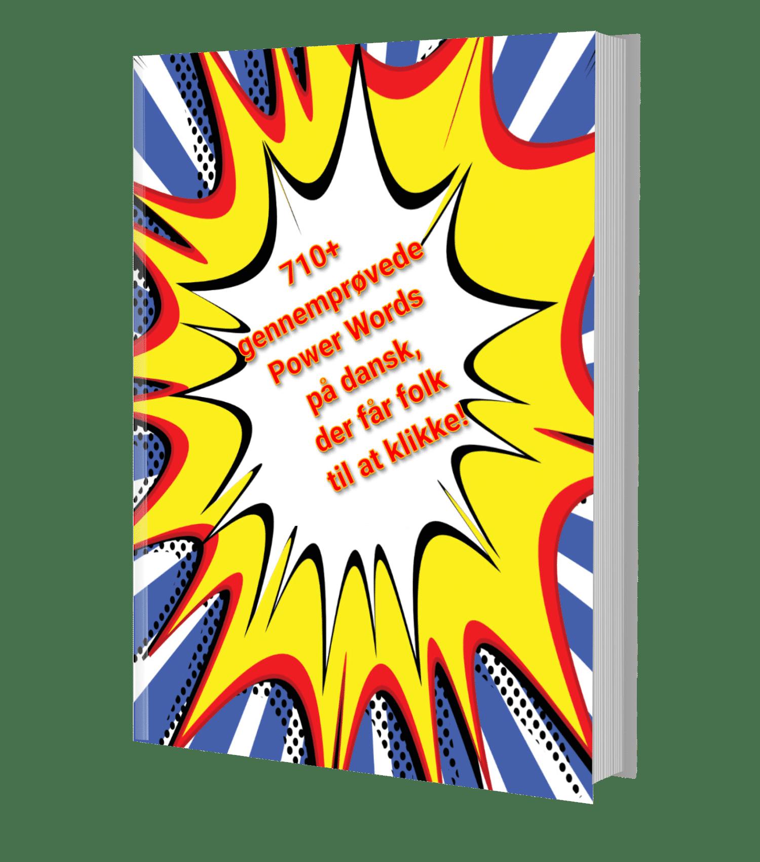 710+ Power Words på dansk i gratis e-bog