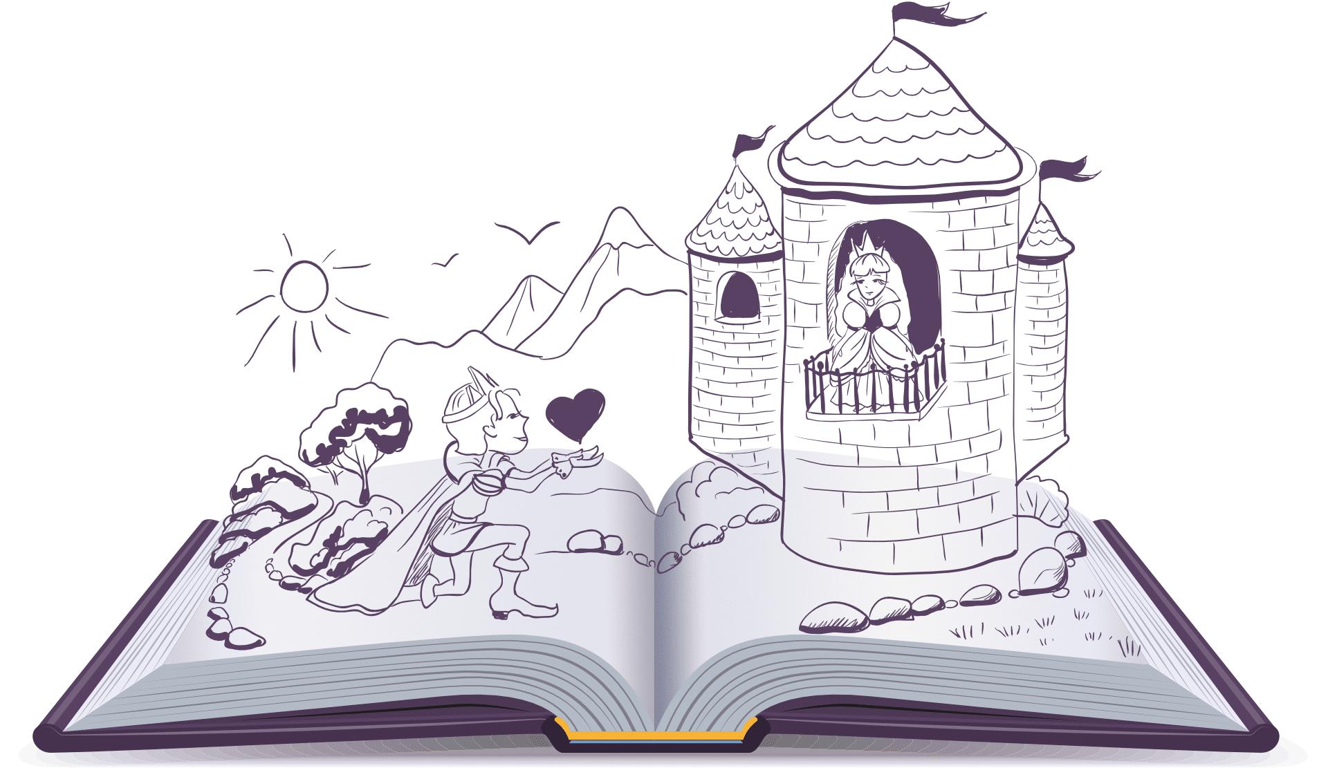 Fremhæver du fortællingerne i dine sætninger, gør du din tekst lettere at læse
